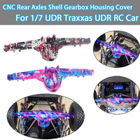 GPM CNC 합금 1/7 UDR Traxxas UDR RC 자동차 용 CNC 리어 액슬 쉘 기어 박스 하우징 커버