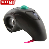 CHYI Wireless Air Mouse 1600DPI Computer Handheld Trackball Mouse Optical Ergonomic Mice Mause For PC Laptop PPT Presentation