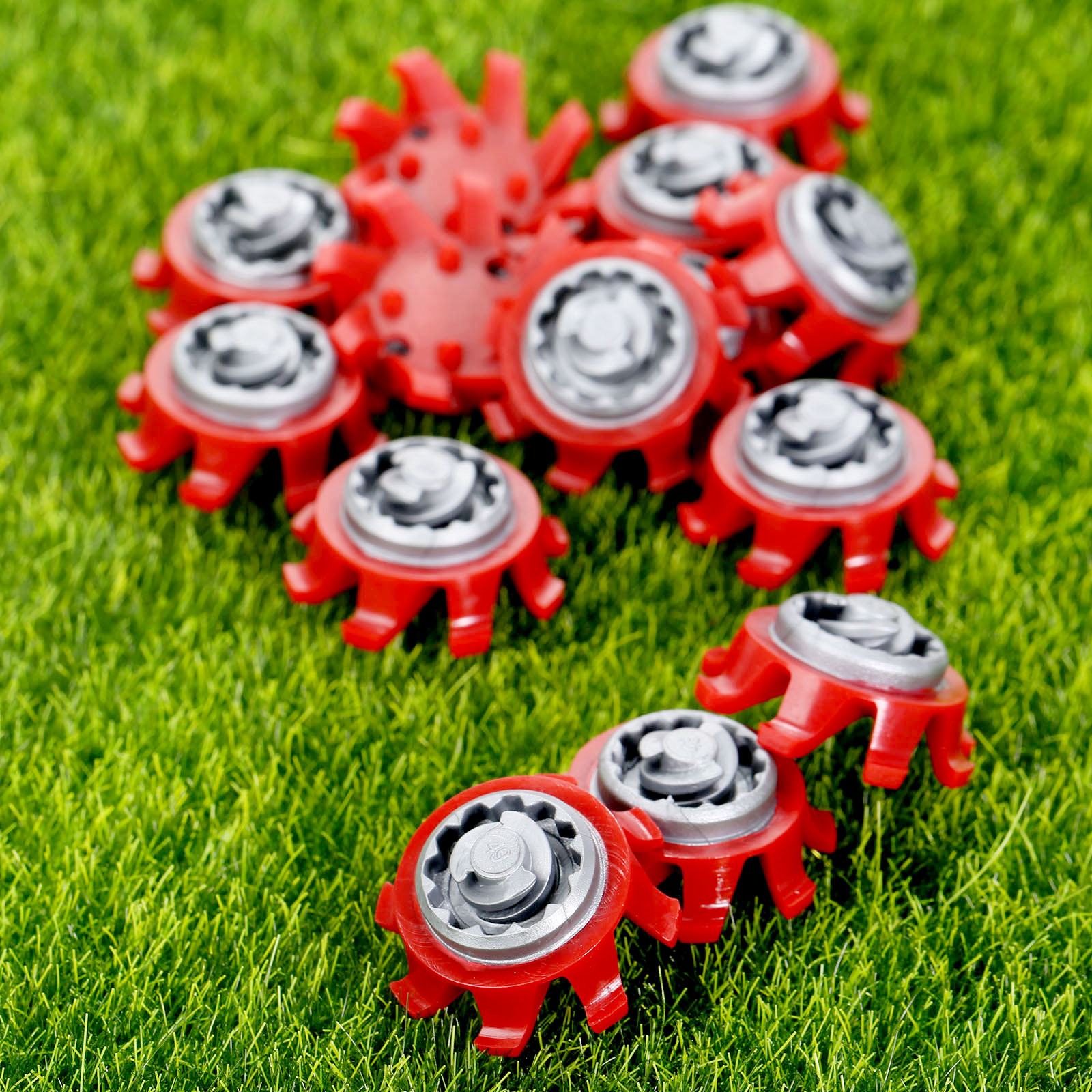 14Pcs TPR Golf Shoe Spikes Replacement Champ Cleats Pins Fast Twist Turn Screw Studs Stinger Golf Accessories Golf Training Aids