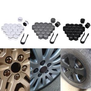 Image 1 - SPEEDWOW 20 шт. 22 мм Автомобильная крышка ступицы колеса, крышка винта, колесная гайка с болтом, крышка крышки, защитный болт, крышка s, защита винта ступицы, Стайлинг автомобиля