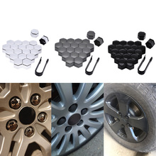 Speedwow tampa do cubo da roda de carro, 20 peças 22mm, porca da roda, parafuso, tampa protetora, parafuso, cubo, parafuso protetor de carro