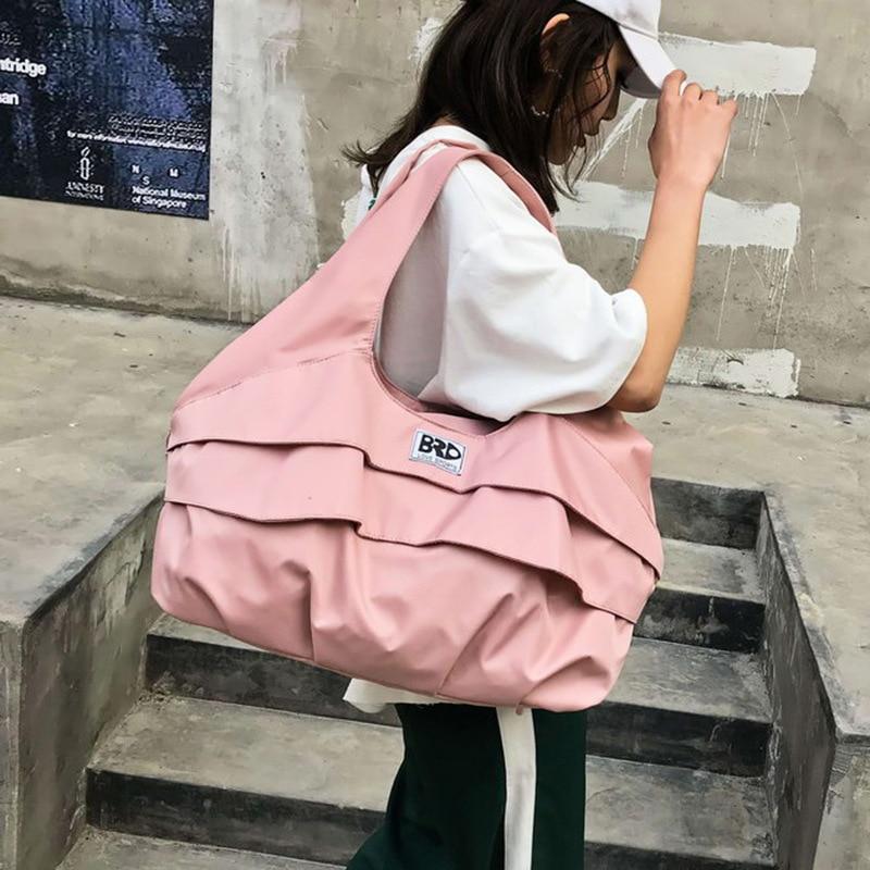 MissYe Bagmall  Travel bag female Korean version of short-distance travel luggage bag