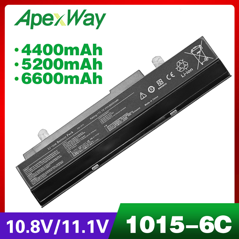 laptop black battery for ASUS A32-<font><b>1015</b></font> AL31-<font><b>1015</b></font> for Eee PC <font><b>1015</b></font> 1016 90-OA001B2300Q 90-OA001B2500Q 90-XB29OABT00000Q image
