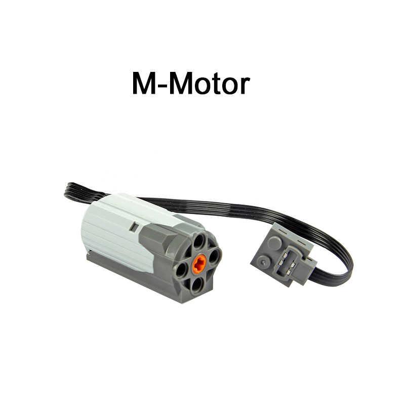 Technic teile kompatibel für Lepinblock multi power funktionen werkzeug servo blöcke zug motor xl motor PF modell sets 88002