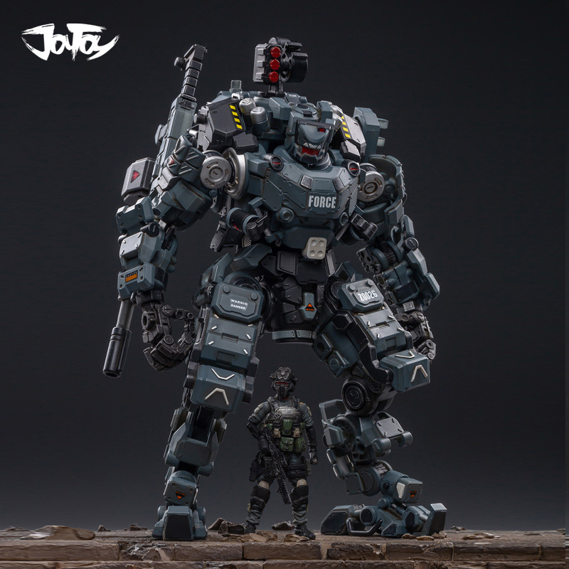 2pcs/lot 2020 NEW JOYTOY 1/25 Action Figure Robot Steel Bone Armor Mecha Collection Model Toys Birthday Girt