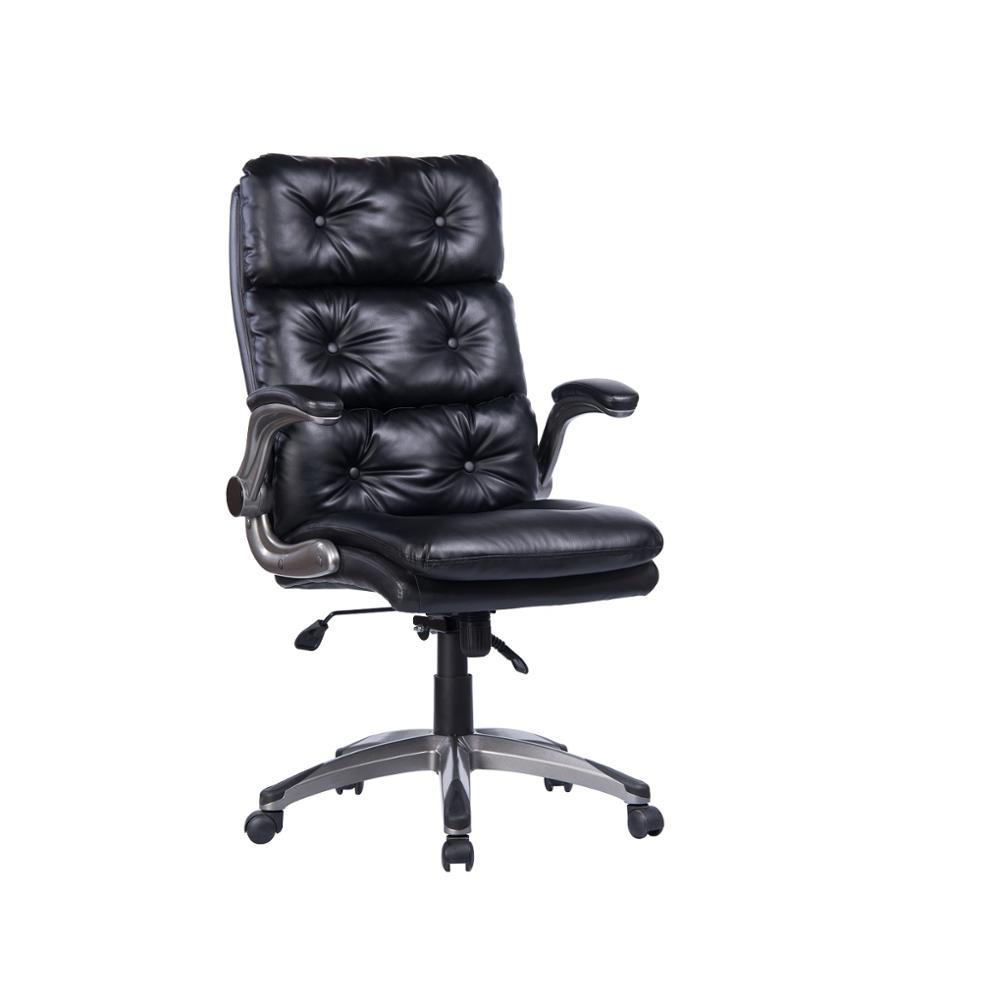 Comfortable Pu Leather Executive Computer Office Chair Gaming Chair Racing Office Chair -Back Angle Ergonomic High-Back Leather