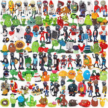 Plants Vs Zombies Pvc Action Figure Set Collectible Mini Figure Model Toy Gifts Toys For Children Brinquedos Toy No Box cute nyan board cat in danboard mini pvc action figures collectible model toys gifts 10pcs set 7cm