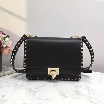 Kafunila famous brand designer women bag 2020 Rockstude genuine cow leather Crossbody Bag chain rivet Lady's bag bolsa feminina