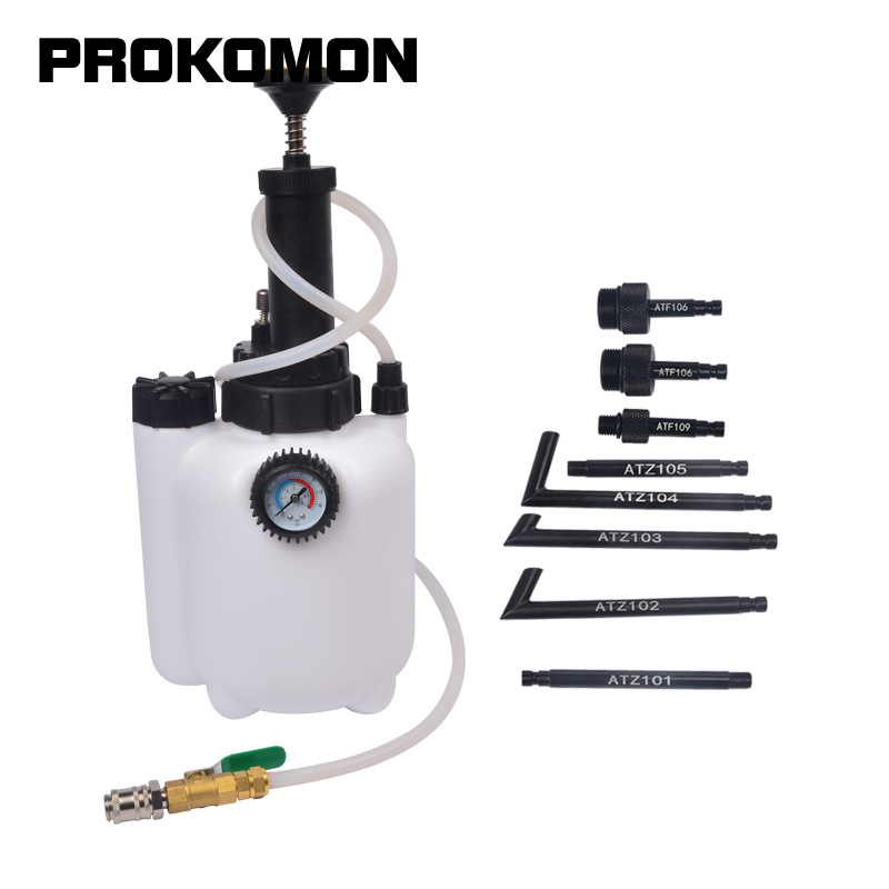 Transmission Oil Filling System 3L Change Pump Dispensing With System Adaptors ATF For BMW VW