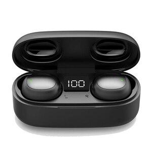 Image 4 - Tws GW13 Touch Bluetooth 5.0 Headset Draadloze Oortelefoon Led Digitale Display Hd Stereo Ruisonderdrukking Oortelefoon Met Microfoon