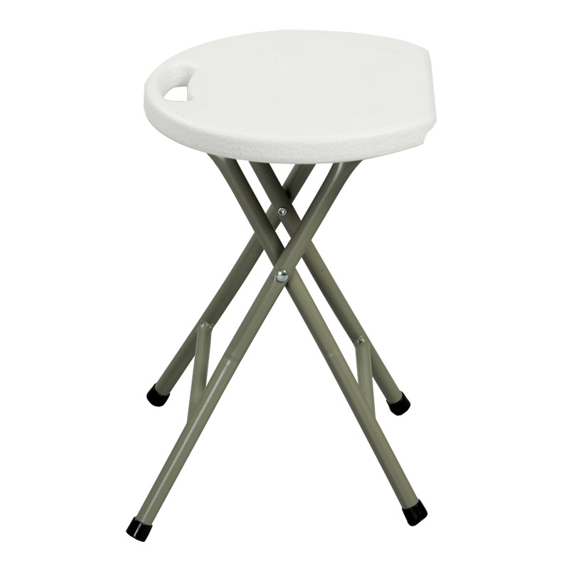 Folding Stool Portable Simple Stool Outdoor Home Bench Thick Plastic Sturdy Stool