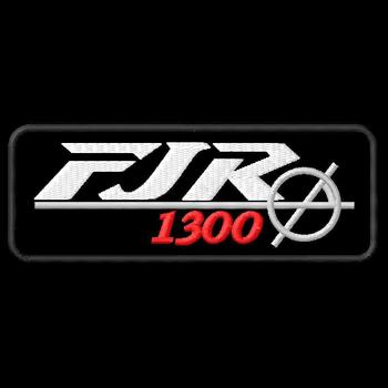 FJR 1300 Sắt Miếng Dán Toppa Ricamata Gestickter Miếng Dán Miếng Dán Brode Parche Bordado Kích Thước: 10 Cm