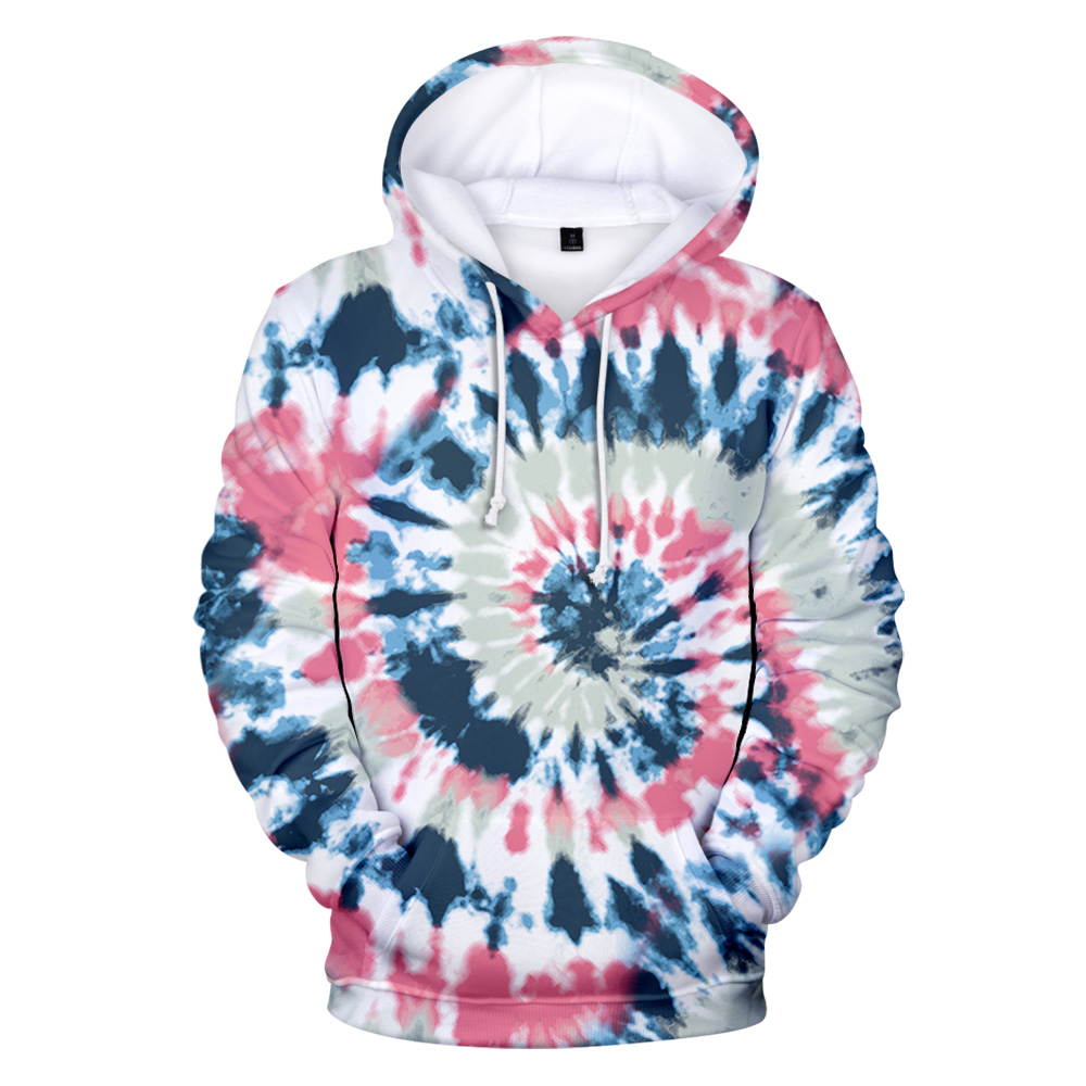 New 3D Tie Dye Hoodie Men / Women Spring Clothes Oversize Sweatshirt Men's Clothing Harajuku Pullover Hoody Print Casual Hooded 6