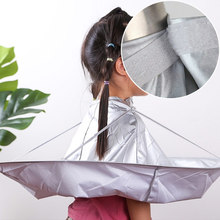 Apron Capes Umbrella-Cape Hair-Cutting-Cloak Salon Barber Home-Stylists-Using DIY Silver