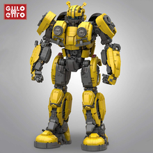 Kids Toys Bricks-Sets Model Building-Block Mech Bumblebeed Robot Creator Expert Gifts