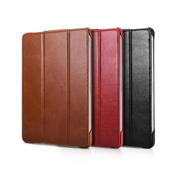 ICARER New 2020 iPad Pro 12.9inch Vintage Retro Leather Flip Stand Cover Case Funda