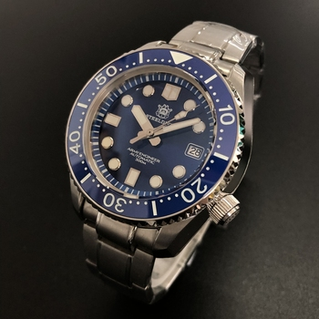Steeldive All-in-one 300M Waterproof BGW9 Sapphire Crystal Stainless Steel Luminous Dive Watch SD1968