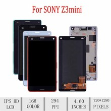 цены на Original For SONY Xperia Z3 Compact LCD Display Touch Screen Digitizer 4.6
