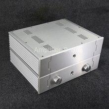 1PCS BZ4310C/BZ4310D Power Amplifier All Aluminum Chassis / Audio Amp Enclosure / Pre-Amp Box DIY Case 430MM*105MM*340MM AP41