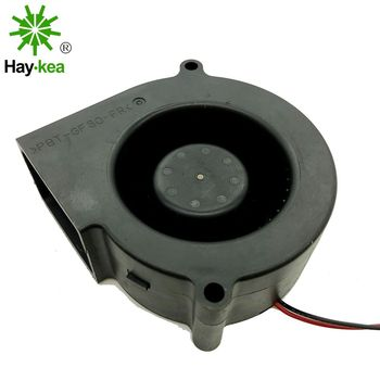 For NMB 7530 BG0703-B044-000 DC 12V 0.38A turbo centrifugal blower server inverter cooling fan nmb 3110gl b4w b79 cooling fan dc12v 0 38a 80x80x25mm
