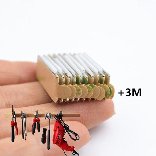 10 шт n52 неодимовый магнит с 3м клеем маленький блок супер фотография
