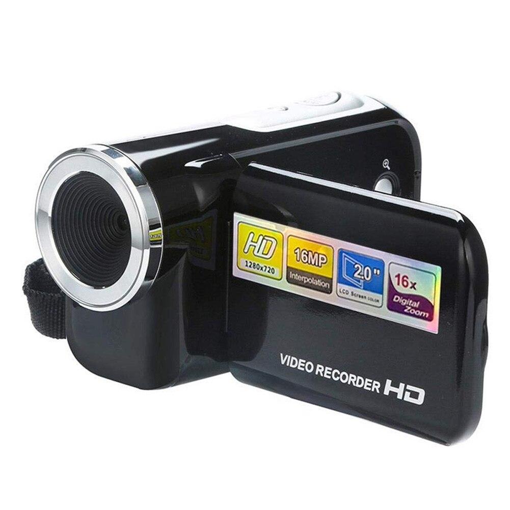 Videocámara 2 pulgadas Pantalla 16 millones de píxeles Mini cámara Digital AS99 Ultra cámara fotográfica 16MP Ultra-clear HD cámara Digital DVR 1080P Mini HD cámara de vídeo preciso cámara grabadora DVR negro