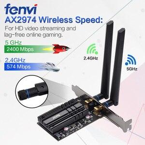 Image 2 - ثنائي النطاق 3000Mbps واي فاي 6 إنتل AX200 PCIe اللاسلكية واي فاي محول 2.4G/5Ghz 802.11ac/ax بلوتوث 5.0 AX200NGW بطاقة واي فاي للكمبيوتر