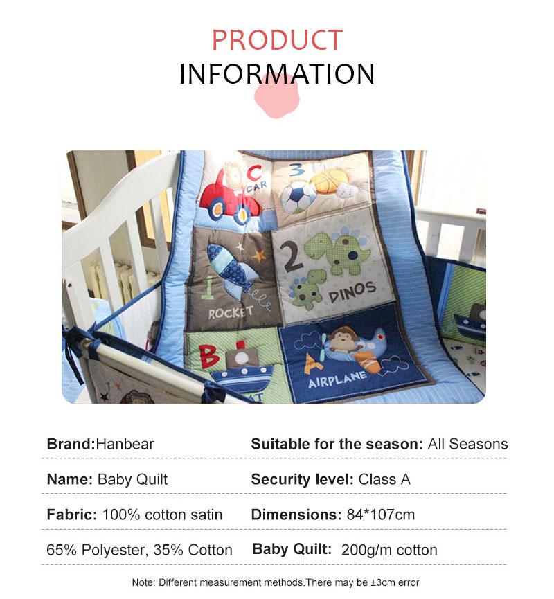 1 шт., Хлопковое одеяло для детской кроватки, 33*42, для мальчиков и девочек, Универсальное Детское одеяло с мультяшным принтом, детское одеяло, одеяла для кроватки, детские вещи для новорожденных