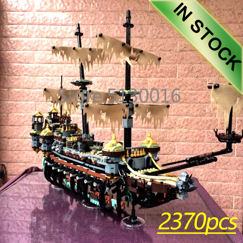 16042 Dead Men Tell No Tales Silent Mary 71042 2370Pcs  Blocks Bricks Toys Compatible 22001 16002 16006 16009 16016 16051