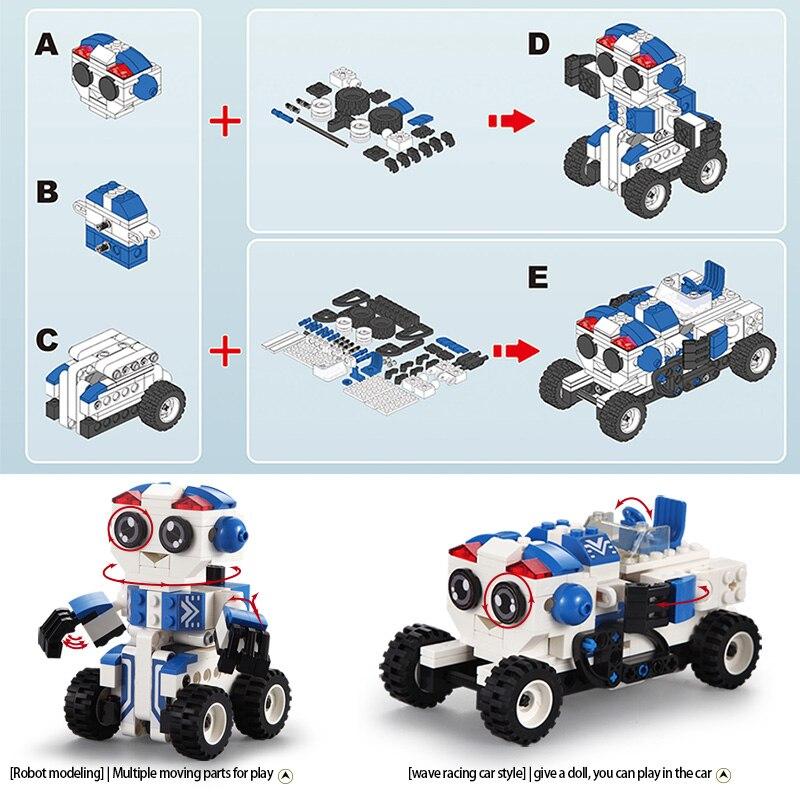 Cada C52018 Wave Racing Car Cute Robot
