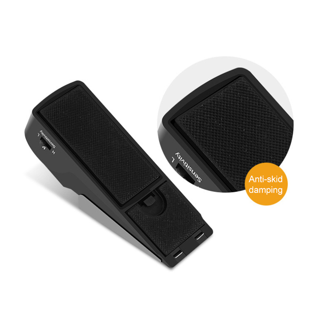 Holiday House Alarm-Block Stopper-Alert Door-Stop Security-System Home Wireless Triggered Vibration 4
