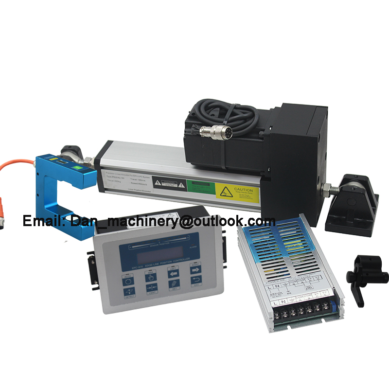 High Quality  EPC Web Guide Control System With Ultrasonic Sensor  Sensor And Servo Web Guide Controller