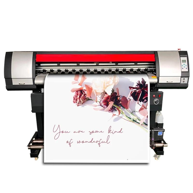 inkjetprinters dx7 wide format poster printing machine vinile plotter outdoor wallpaper carwarp printer