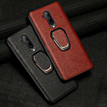 Original Litchi Grain Leather Magnetic Phone Case for Oneplus 7T Pro 8 Pro Nord 7 Pro 6 6T 8T Cover for One Plus 7 Pro 5 5T 6T