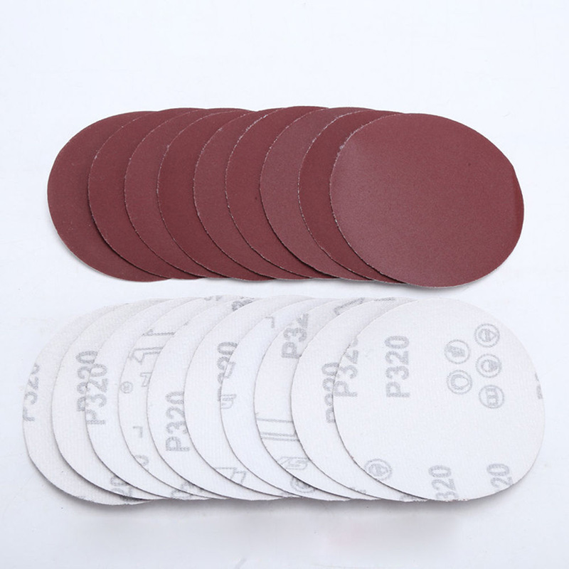 10Pcs/Set 4inch 100mm Sander Disc Sanding Pad Polishing Pad Sandpaper 40,60,00,120,240,320,400,600,800,1000,1500,2000 Grit