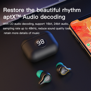 Image 5 - LUCKYLZ SE16 s TWS سماعة لاسلكية تعمل بالبلوتوث 5.0 سماعات أذن تعمل باللمس سماعات APTX سماعة إلغاء الضوضاء الرياضة CVC8.0 سماعات الأذن