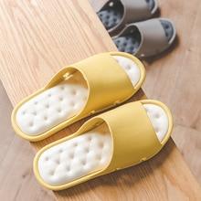 EVA Slippers Summer Floor Non-Slip Home Floor Slippers Indoor Female & Male Bathroom Bath Sandals 10 pairs lot japanese linen ladlies slippers heavy bottomed non slip indoor wooden floor