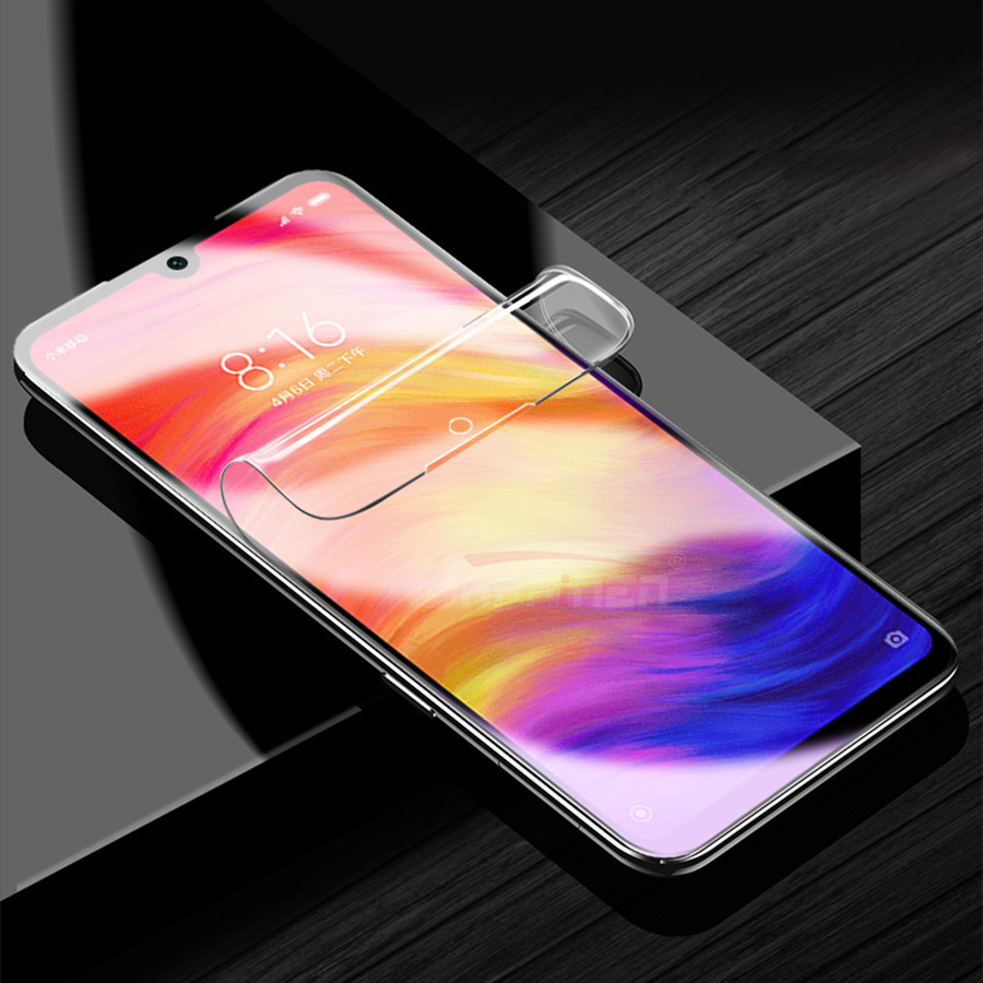 Image 2 - Front+Back 3D Full Cover Screen Protector TPU Film For Xiaomi Mi 9T SE 8 A2 Lite Pocophone F1 Redmi Note 7 K20 Pro Hydrogel Film-in Phone Screen Protectors from Cellphones & Telecommunications