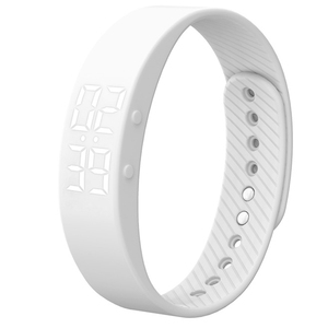 2019 Дамское Платье цифровые наручные часы белые умные часы женские спортивные часы шагомер калории спортивные часы женские Montre Femme