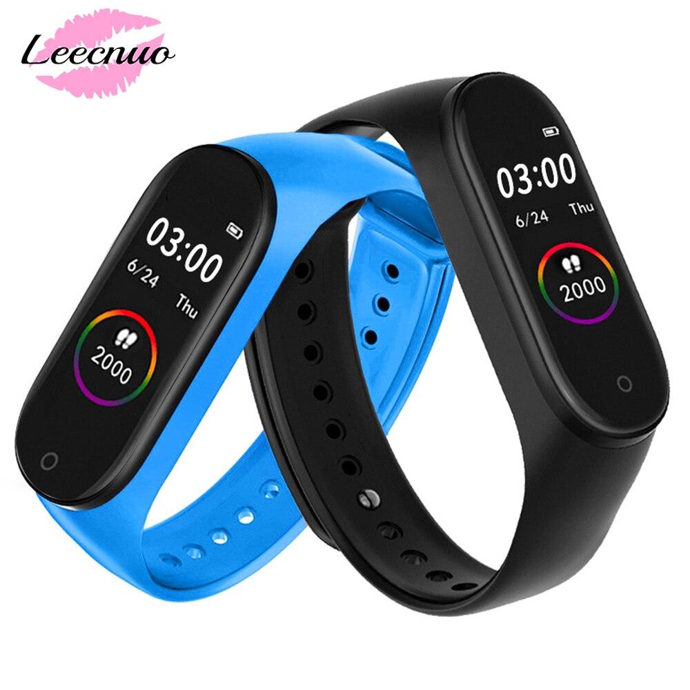 M4 Men Smart Watch IP67 Waterproof Blood Pressure Heart Rate Men Digital Watches Monitor Fitness Tracker Smartwatch Bracelet