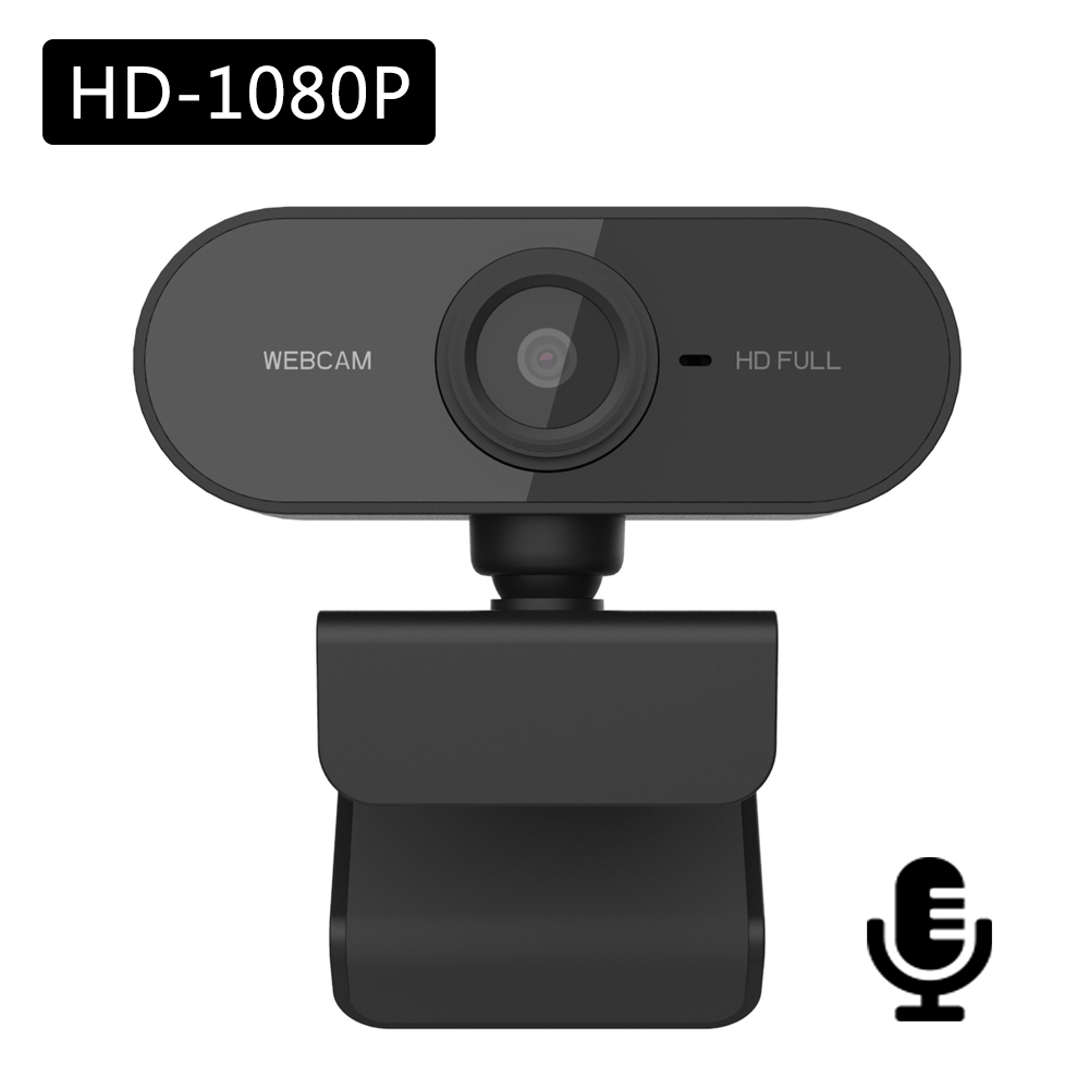 PC Webcam Full HD 1080P USB Video Gamer Camera For Portatile Laptop Computer Web Cam Built-in Microphone For Youtube Web Camera