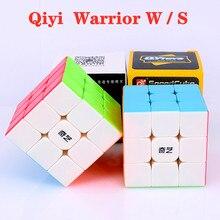 Qiyi guerreiro com 3x3x3 cubo mágico 3x3 velocidade cubo guerreiro s 3x3x3 quebra-cabeça cubo mágico cubos de competição