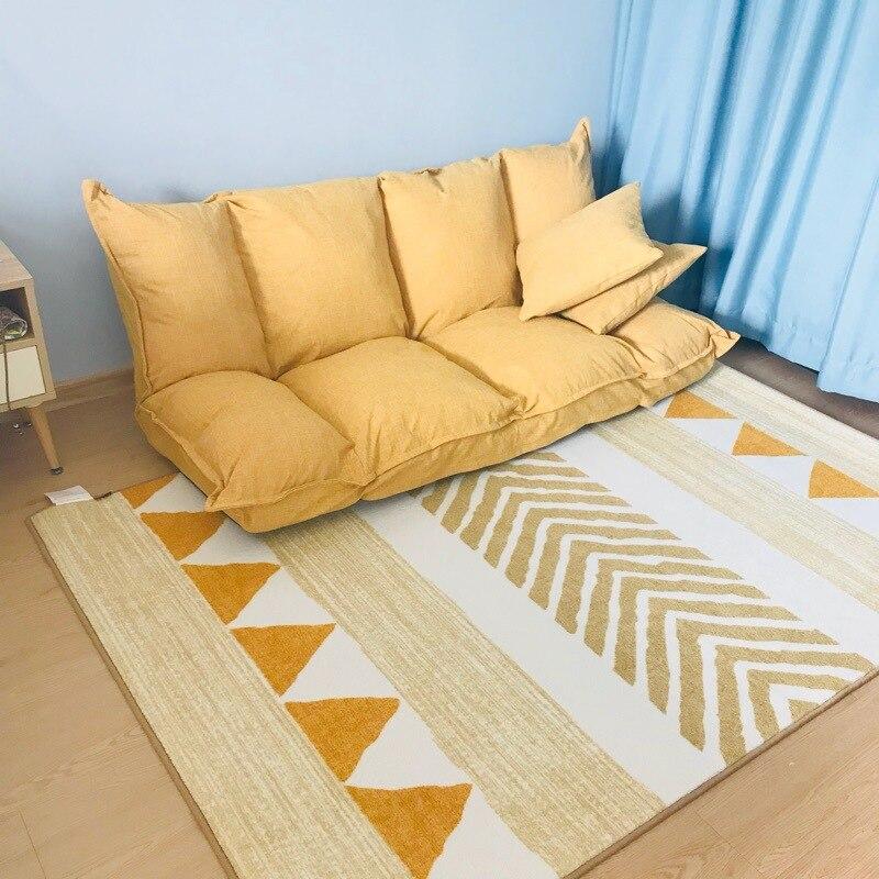 Nordique moderne minimaliste salon chambre tapis thé table tapis chevet tapis maison américain tapis