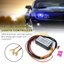 Controller Auto Car LED Daytime Running Light Relay Harness Dimmer On/Off 12-18V Fog Light Controller цена