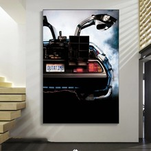 Movies Back To The Future Canvas Painting Machine Car Posters and Prints Modern Wall Art Picture for Living Room Home Decoration