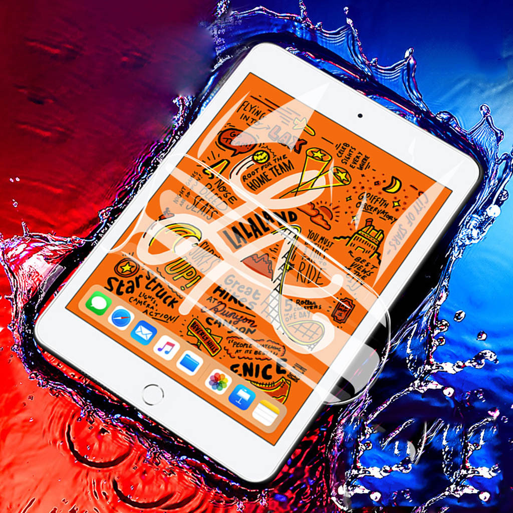 Screen Protector For IPad 7th Generation 10.2 Inch 2019 Clear Soft Hydrogel Film Anti-scratch And Anti-shock Technical Silicone