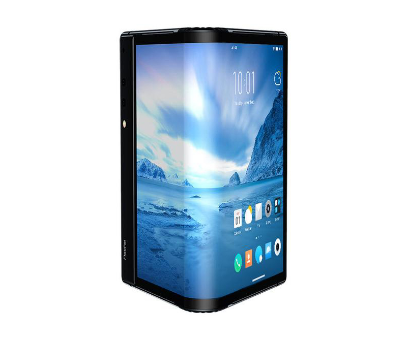 "Original Royole FlexPai Mobile Phone Snapdragon 855 Android 9.0 7.8"" Flexible Screen 8GB RAM 256GB ROM 16.0MP+20.0MP Fingerprint"
