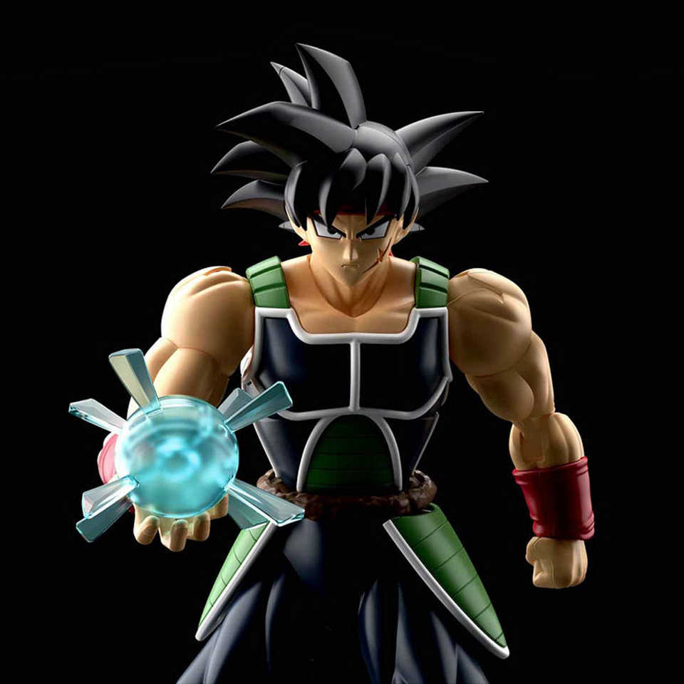 Tronzo Originele Bandai Monteren Figuur Dragon Ball Z Saiyan Klit Goku Vader Pvc Action Figure Model Building Kit Speelgoed