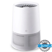 Desktop Air Purifier Cleaner HEPA Filter + UVC Sterilizer + Ion for Home Allergies Pets Smoke Dust Mold Pollen bacterial
