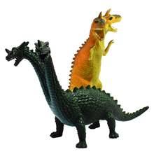 Детская Реалистичная двухсторонняя модель динозавра экшн фигурка